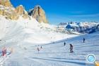 На снежных склонах Валь-ди-Фасса